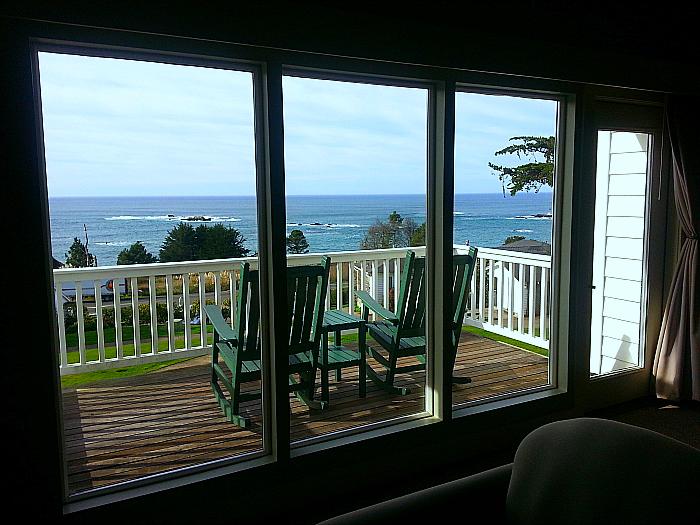 View from Little River Inn