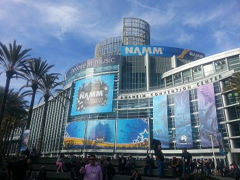 NAMM 2016 - Anaheim Convention Center
