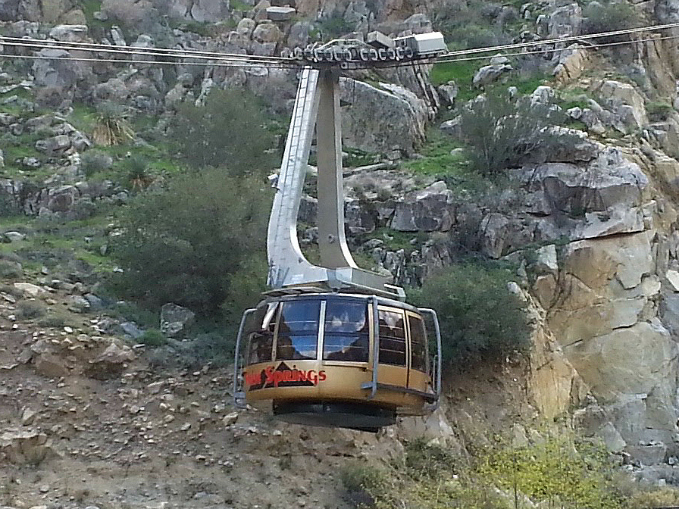 Riding The Palm Springs Aerial Tramway