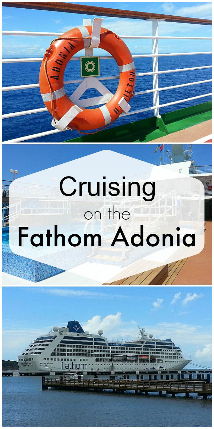 Cruising on The Fathom Adonia
