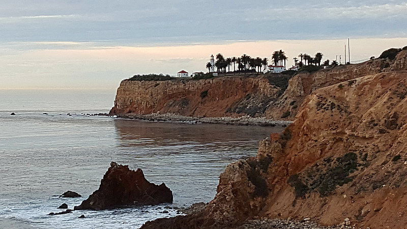 Sunset at Terranea in Palos Verdes