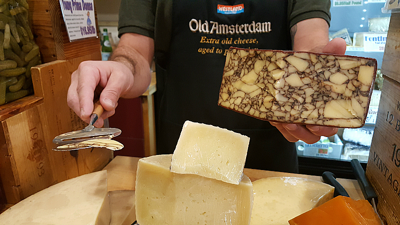 Samples at The Cheese Shop in Carmel By The Sea