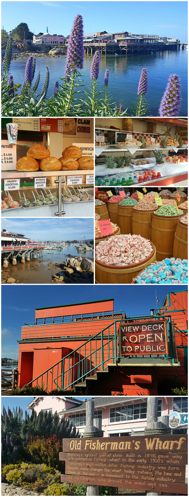 A Spring Visit to Old Fisherman's Wharf in Monterey