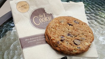 Complimentary Fresh Baked Cookie at The Doubletree by Hilton Claremont Hotel