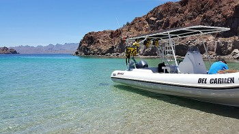 Boat Tour of The Islands of Loreto