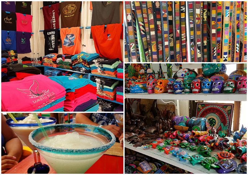 Shopping in Loreto, Baja California Sur, Mexico