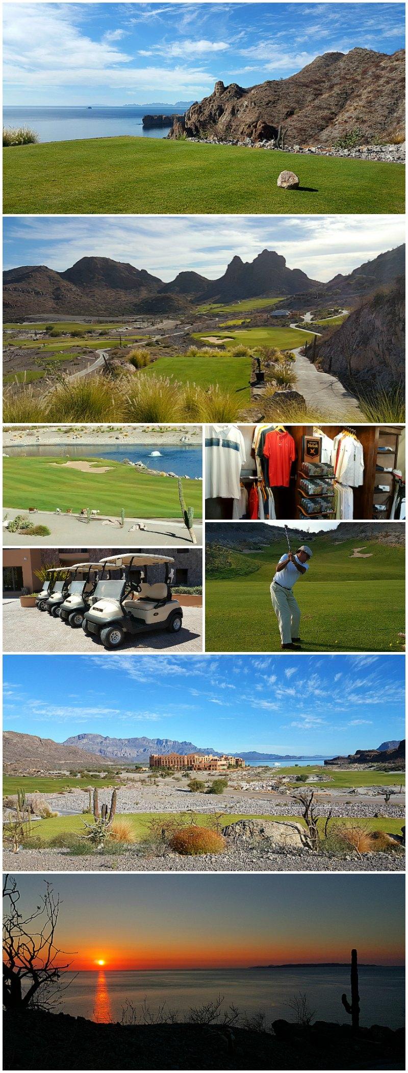 Danzante Bay Golf Course at Villa Del Palmar Islands of Loreto, Baja California Sur, Mexico