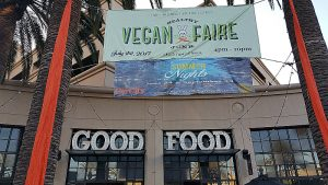 Healthy Junk Vegan Faire at Center St. Promenade in Anaheim