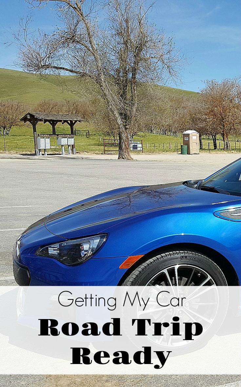 Getting My Car Road Trip Ready