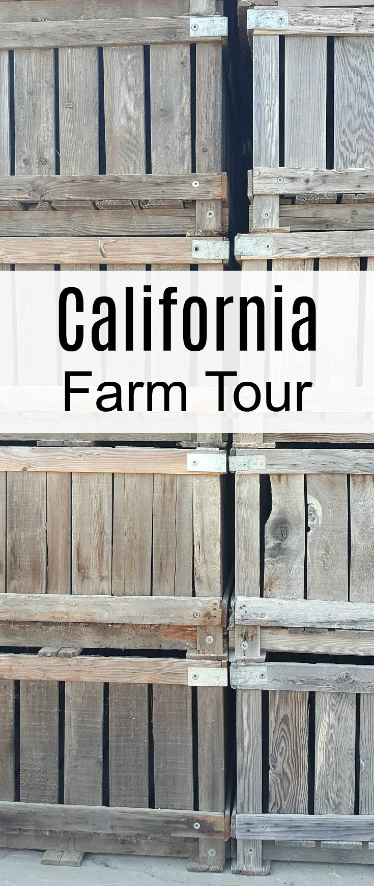 California Central Valley Farm Tour - A behind the scenes look at dairy, nuts, grains, fruits and veggies grown in California