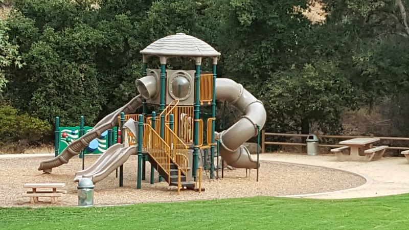 Hans Christian Andersen Park in Solvang