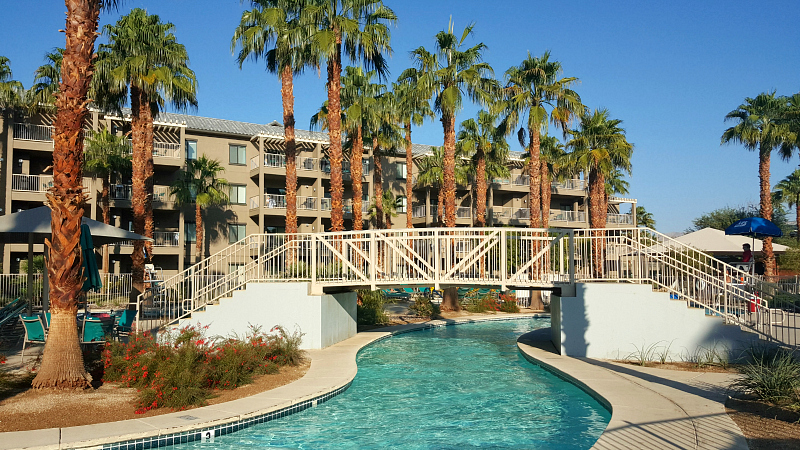 Lazy River at Wyndham Worldmark in Indio, California