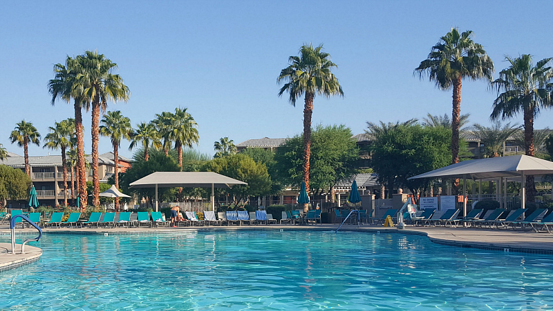 Pool at Wyndham Worldmark in Indio, California