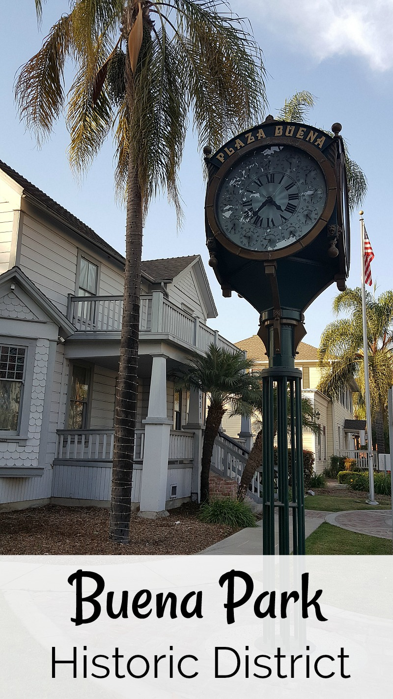 Buena Park Historic District Museum Tour Orange County California