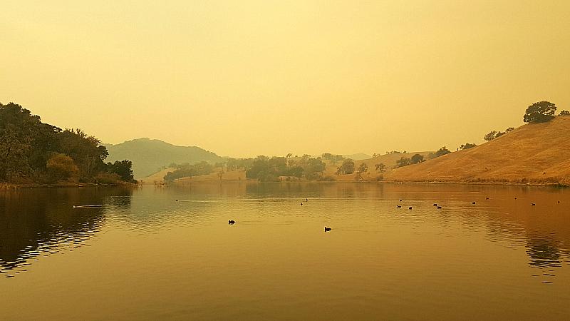 Alisal Lake In The Morning Solvang California