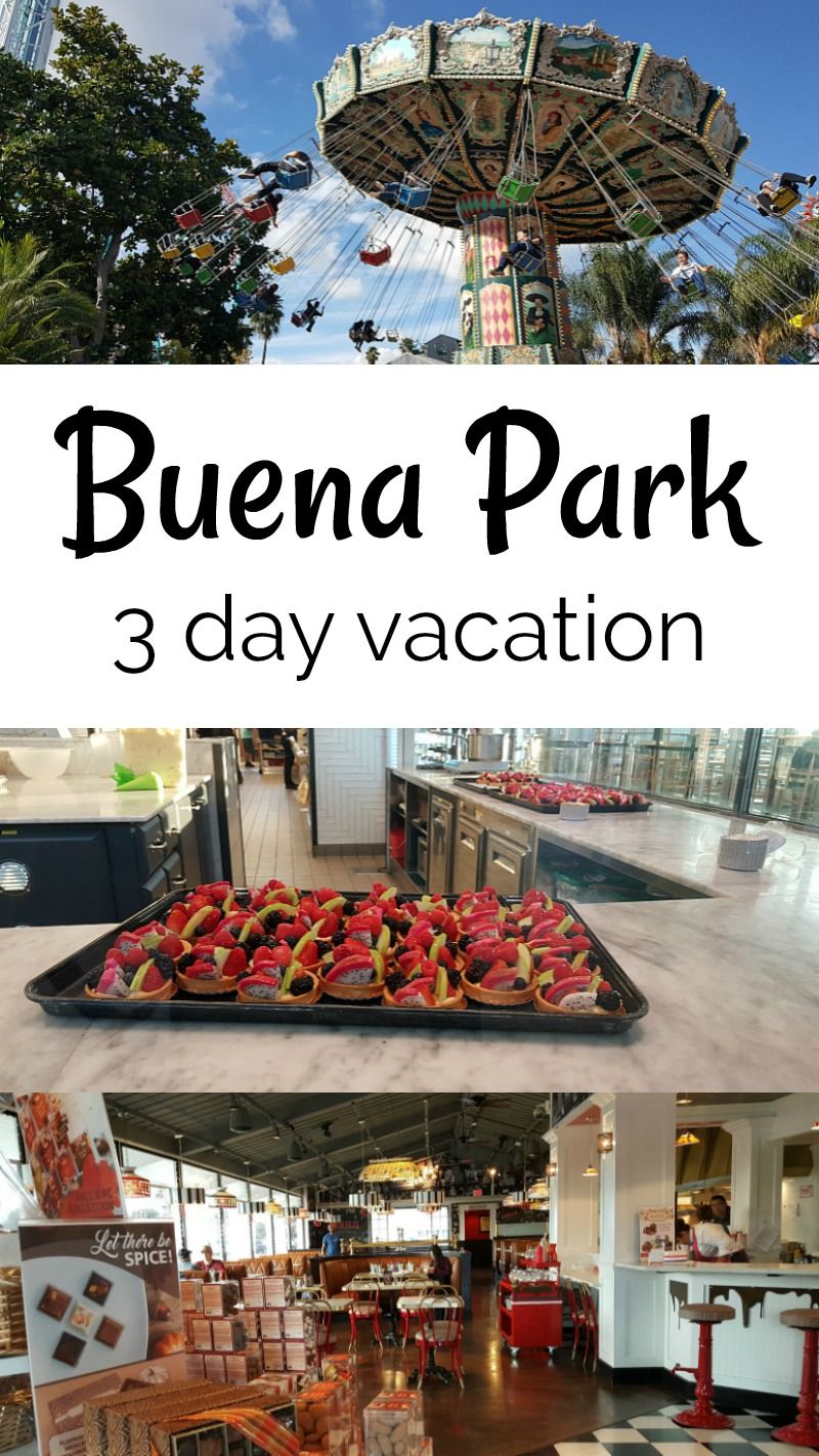 Buena Park Vacation 3 Days in Orange County California
