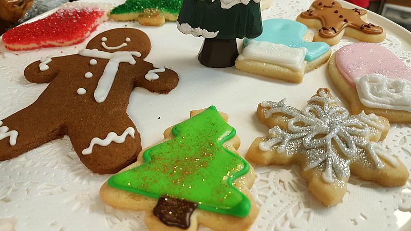 Christmas Cookies Solvang Bakery