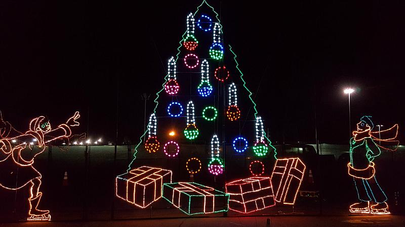 Christmas Tree Holiday Lights