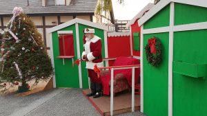 Santa Claus Julemanden Solvang Julefest