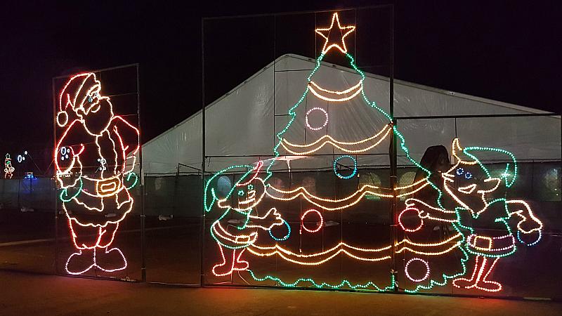 Santa Elves Christmas Tree