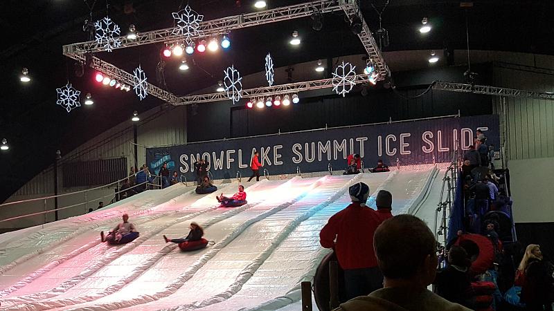 Snowflake Summit tubing