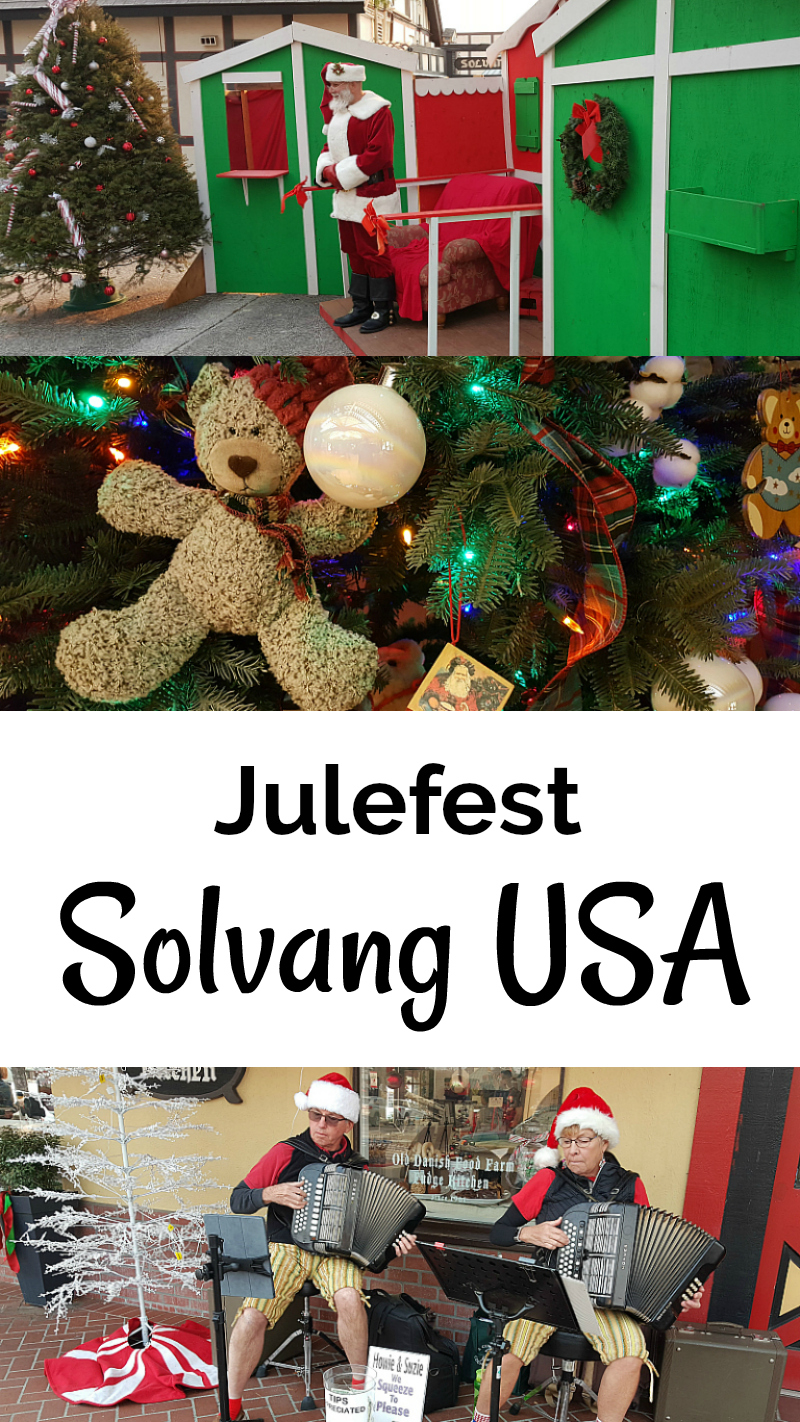 Solvang Julefest European Style Christmas Festival in California's Little Denmark