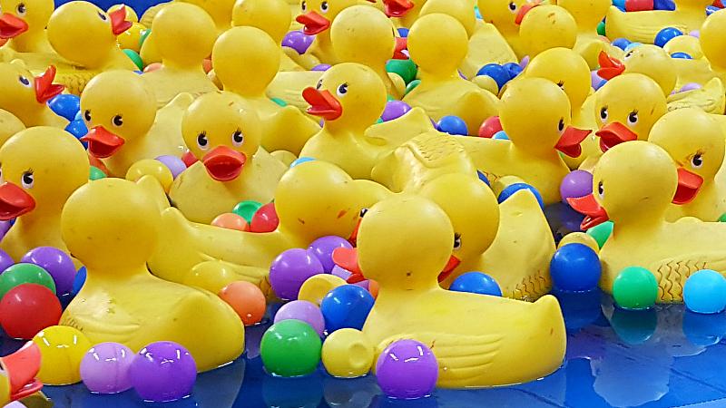Winter Fest OC Fair Carnival Games