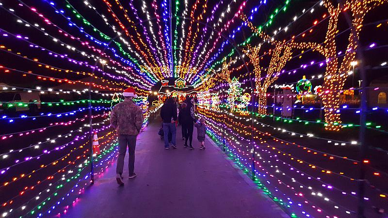 Winter Fest festival of lights