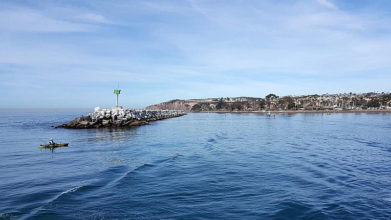 Leaving Dana Point Harbor
