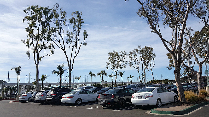 free parking dana point harbor