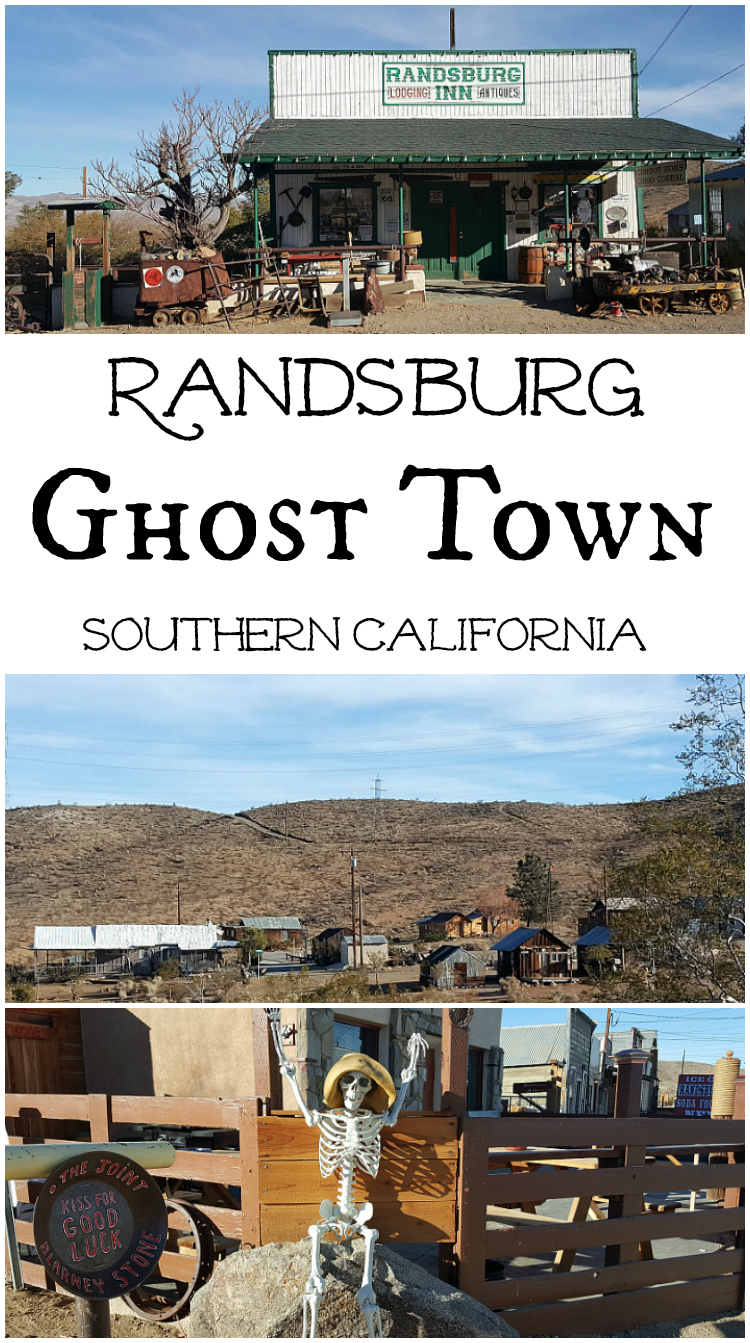 Randsburg Ghost Town in Southern California - Mojave Desert