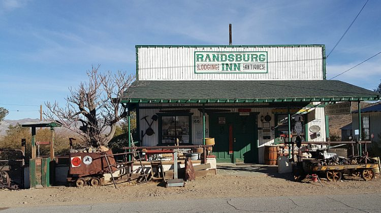 Randsburg Ghost Town in California's Mojave Desert