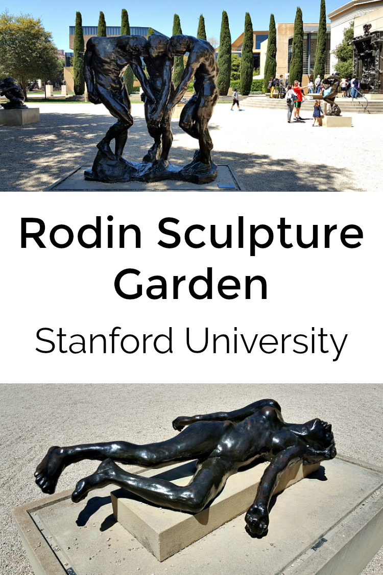 Rodin Sculpture Garden at Stanford University - Cantor Arts Center Museum