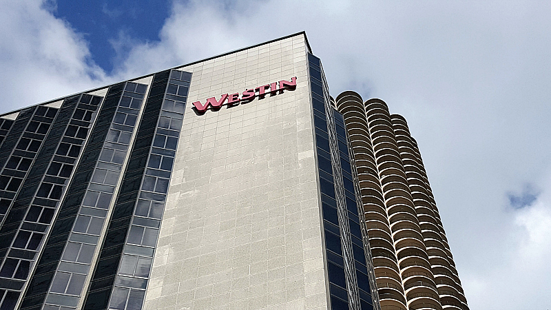 Westin River North downtown Chicago Hotel
