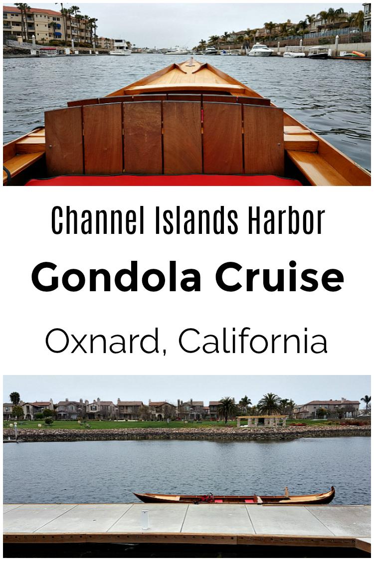 Oxnard Gondola Cruise - Channel Islands Harbor Boat Ride
