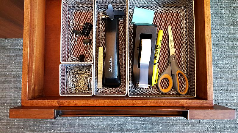 clement desk office supplies