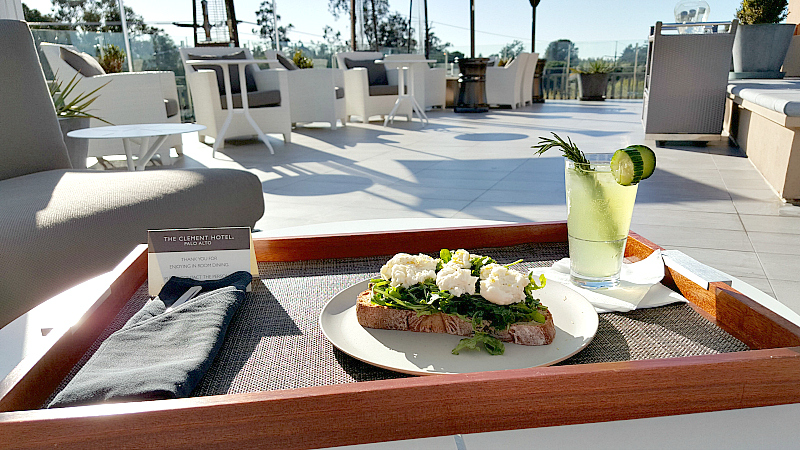 clement rooftop lunch