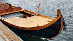 gondola at dock