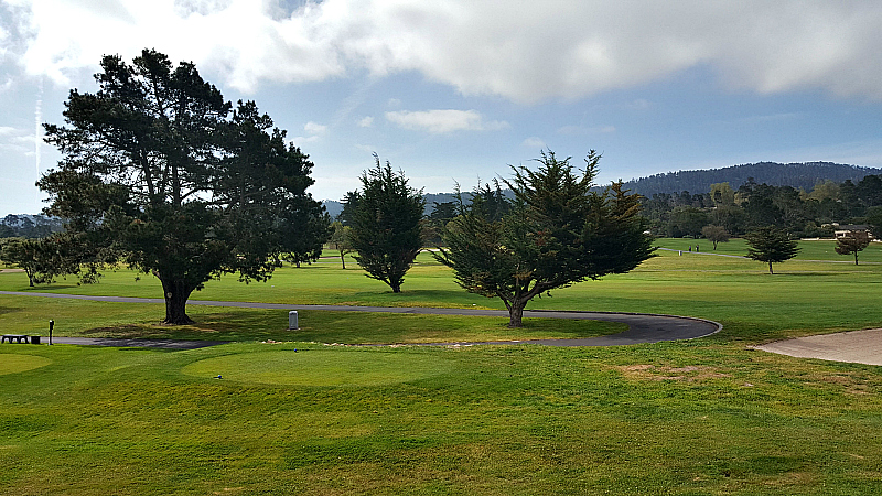 hyatt regency monterey golf course