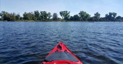 Kayaking Lodi Lake and the Mokelumne River