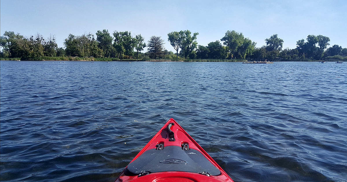 kayaking lodi lake california