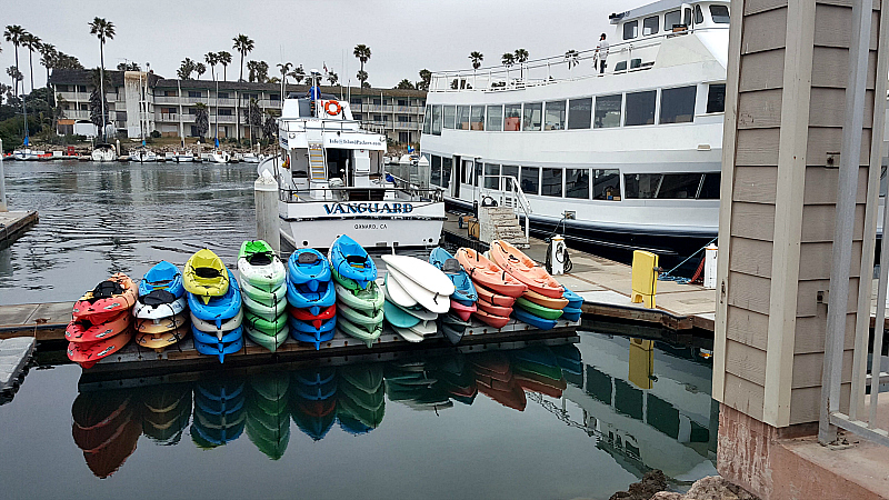 oxnard vanguard kayaks