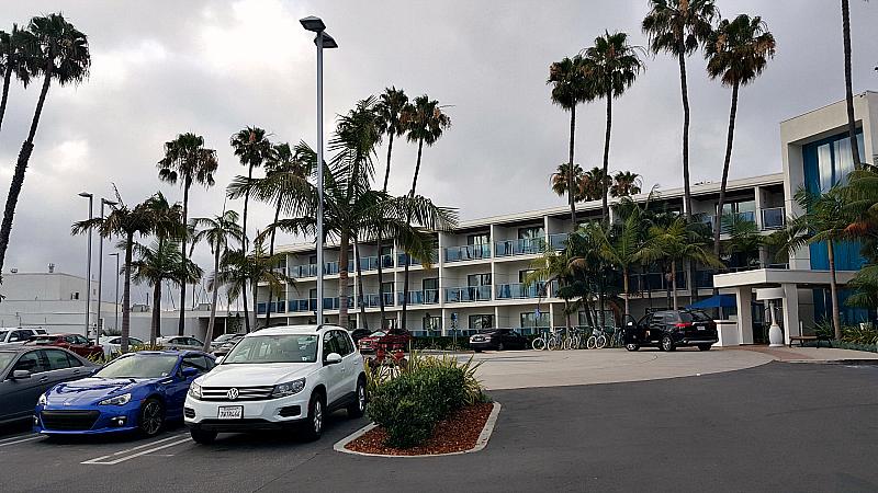 mdr hotel valet parking