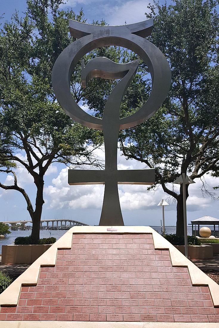 titusville space view park mercury memorial