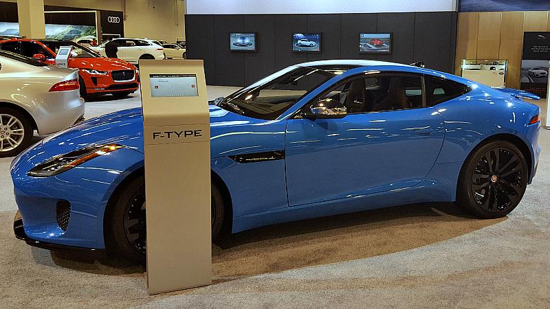 auto show jaguar f-type