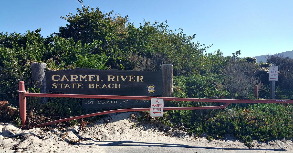 1 carmel river beach