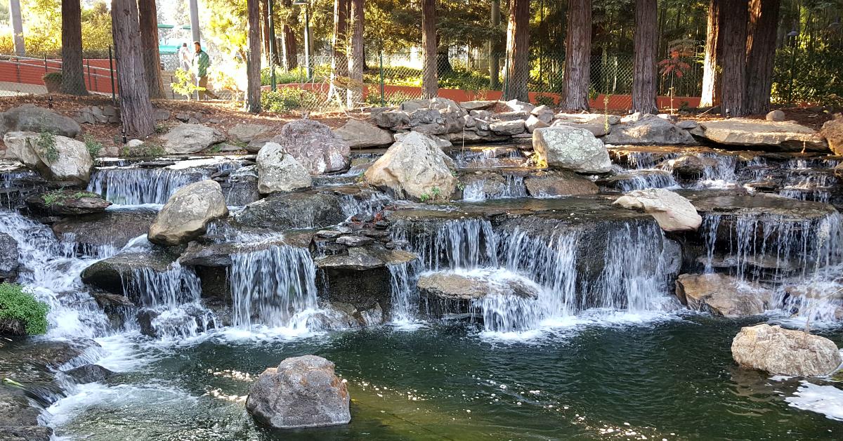 15 gilroy gardens waterfalls