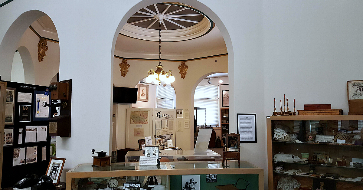 3 gilroy museum library