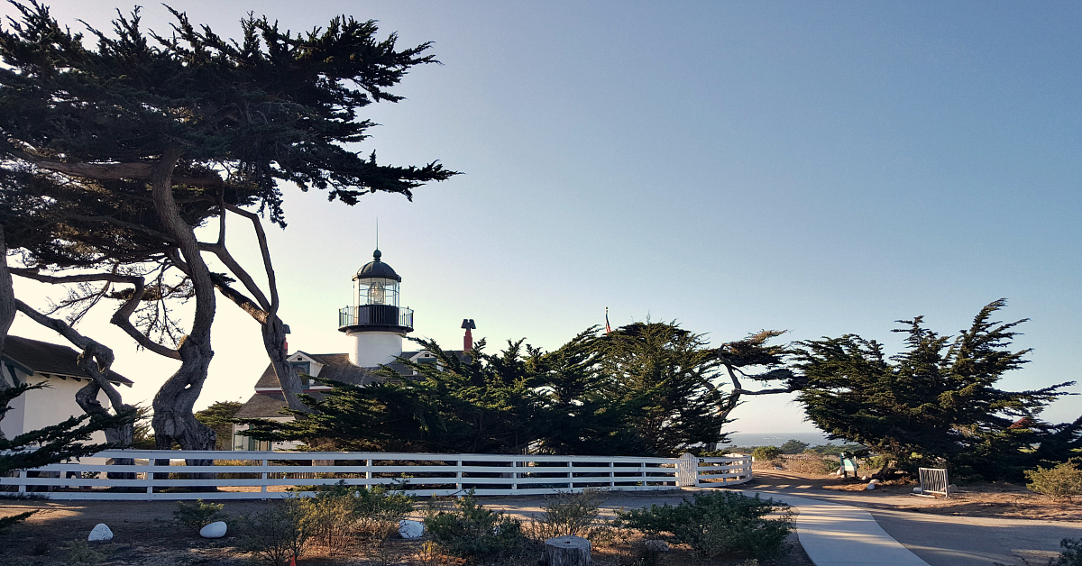 4 point pinos lighthouse
