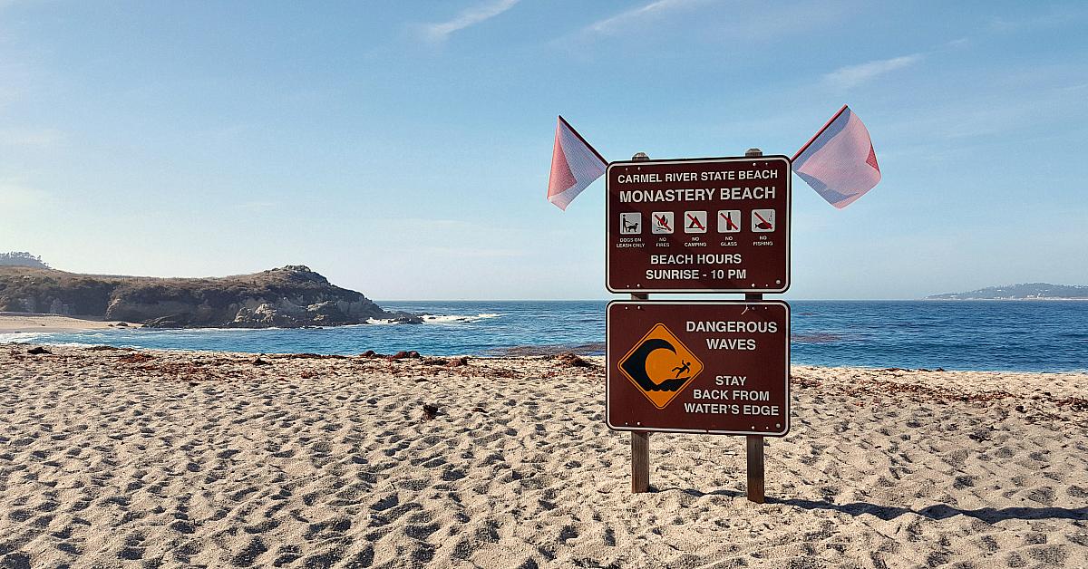5 carmel monastery beach